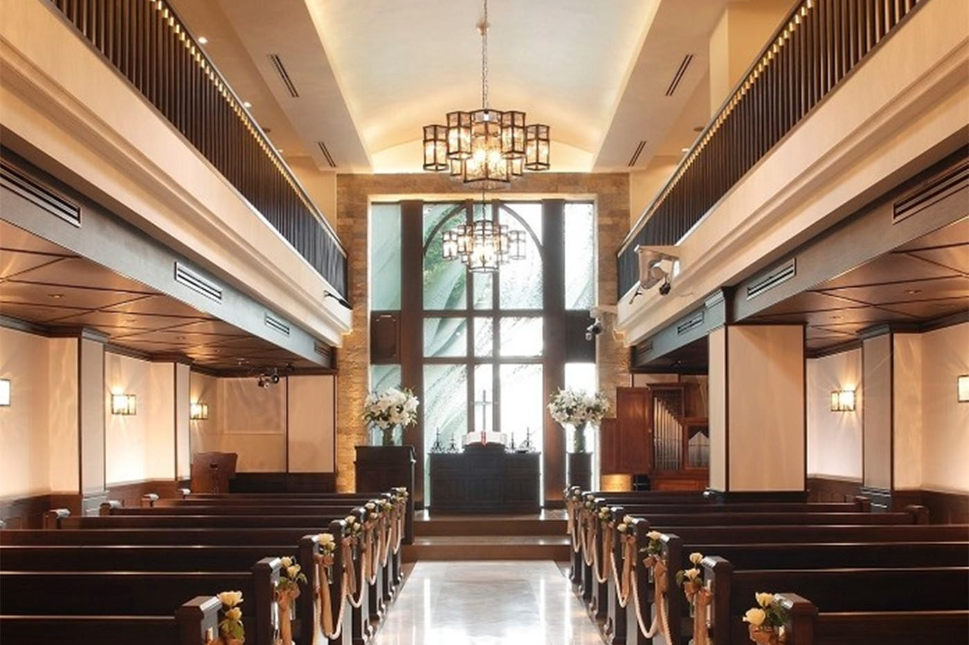 東京 椿山莊 綠風教堂