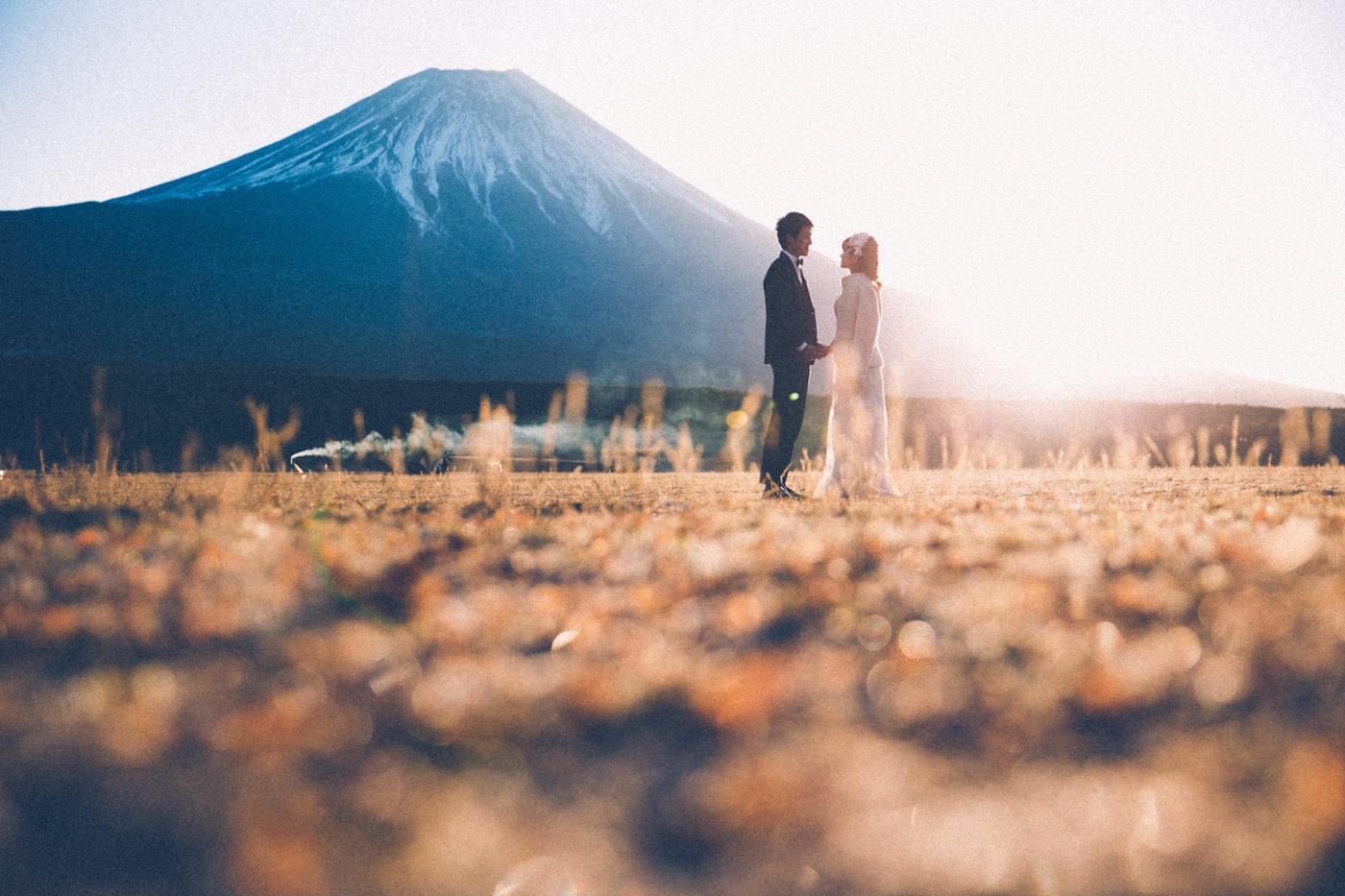 富士山婚紗拍攝