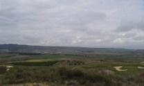 Vista al campo de gof
