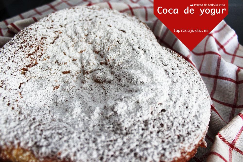 Coca de yogur + recetario de bizcochos