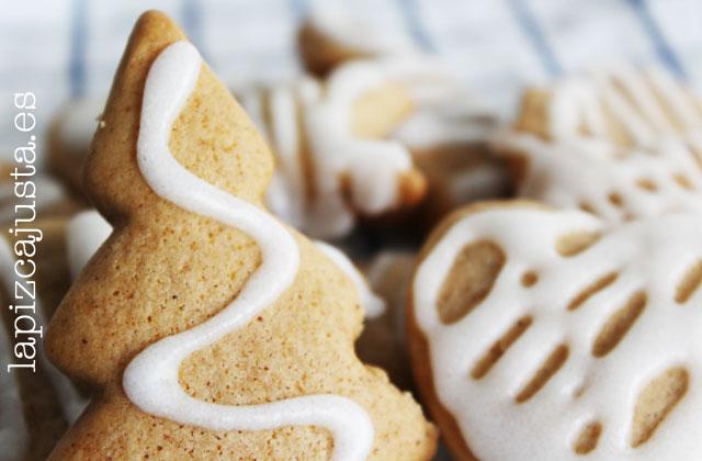 detalle de las galletas de jengibre