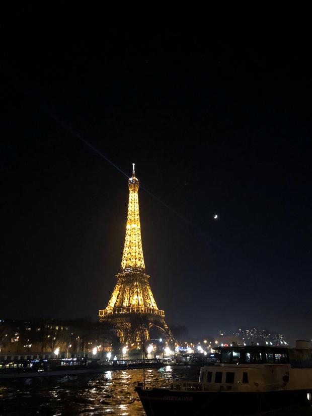 Torre Effiel de noche