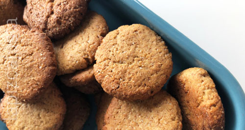 galletas secas de manzana