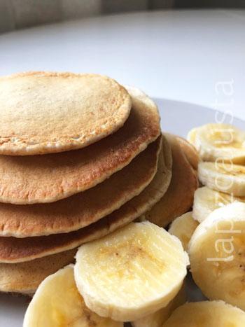 tortitas con plátano