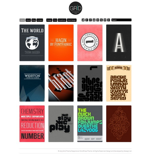 Grid – Free Download Limited Responsive Version