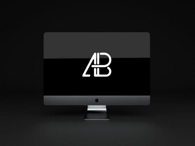 Animated iMac Pro Mockup