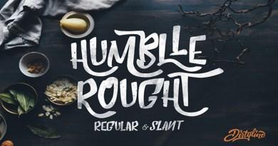 Tipografía Humblle Rought