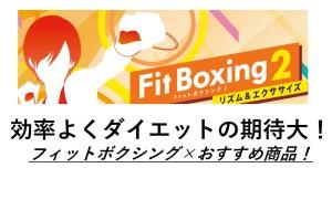 フィットボクシング2,Fitboxing2の道具は必要?効率的に効果を出す、二人プレイで楽しむグリップ、靴下、騒音対策グッズを紹介いたします!