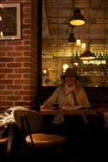 Grand-Mère, chapeau, café, La Place, Neuilly