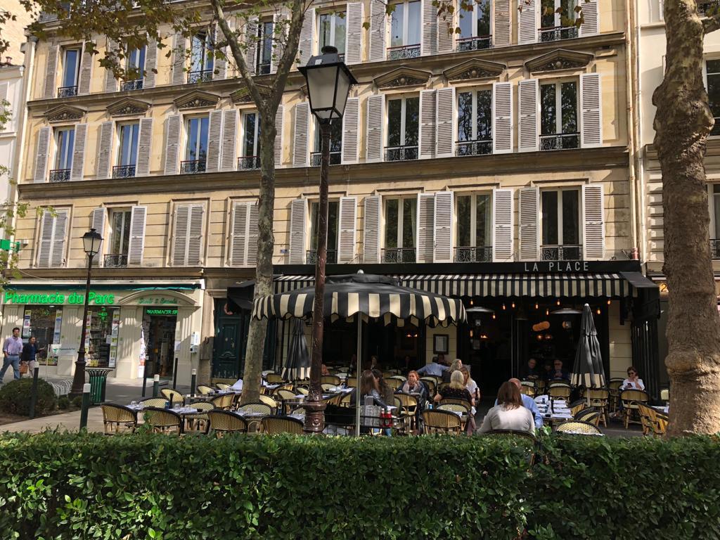Terrasse été, restaurant, La Place, Neuilly