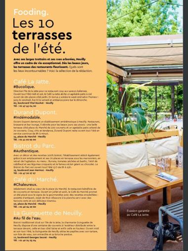 Article,presse, La Place, Neuilly