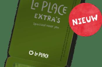 La Place extra's kaart
