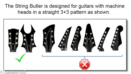 String Butler Headstock Compatibility
