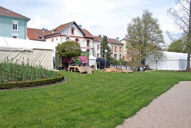 Parking de Badenwiller.