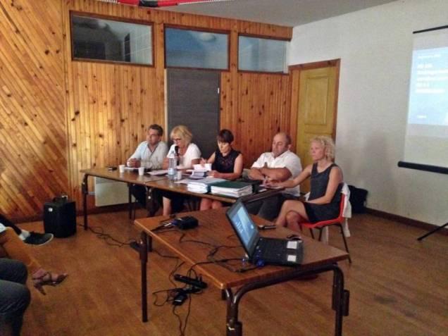 Véronique Marcot a présenté le projet.