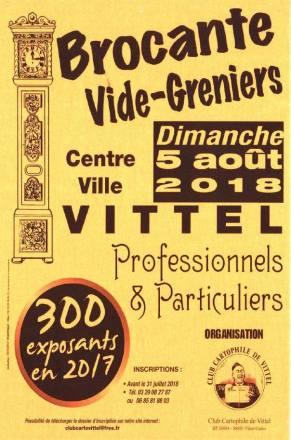 Le club cartophile de Vittel prêt pour son traditionnel vide-greniers