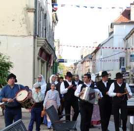Folklore portugais pour les vingt ans de jumelage.