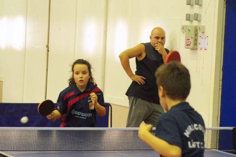 Emilie était l'une des représentantes du club vittellois avec Nahé et Eliandre.