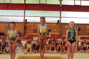 Podium individuel (finale B 7-9 ans)