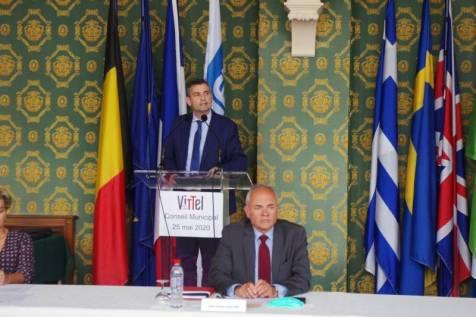Franck Perry réélu maire de Vittel à la majorité des suffrages exprimés.