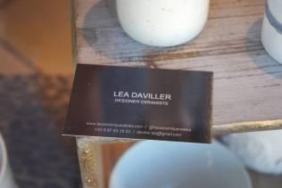 Léa Daviller travaille la céramique.