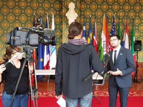 Alexandre Chopinez, adjoint aux sports en charge du dossier Paris 2024 pour Vittel.