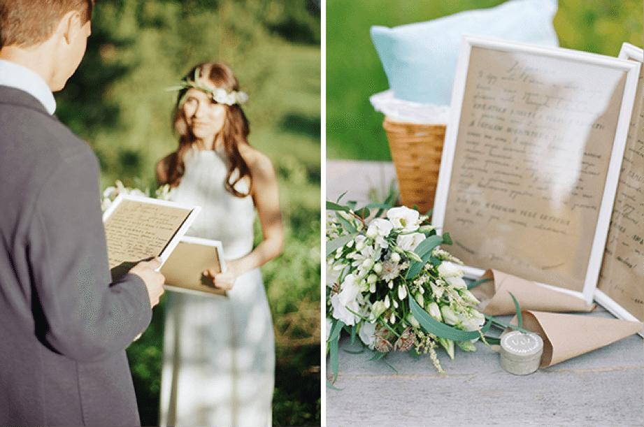 Ideas para inmortlizar tus votos matrimoniales - LaPlanner