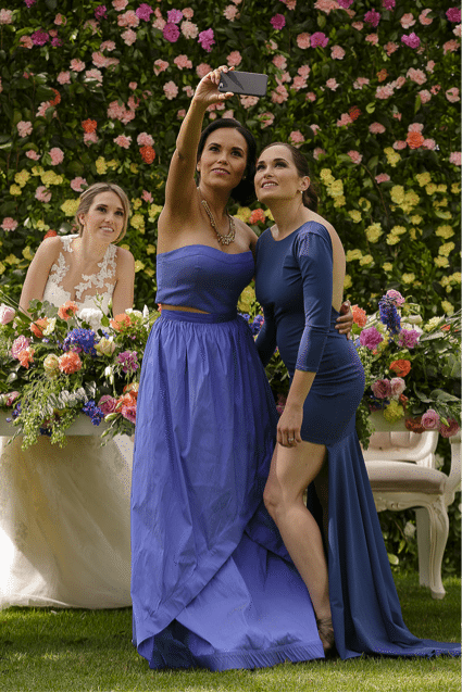 damas de honor americanas y mexicanas 1