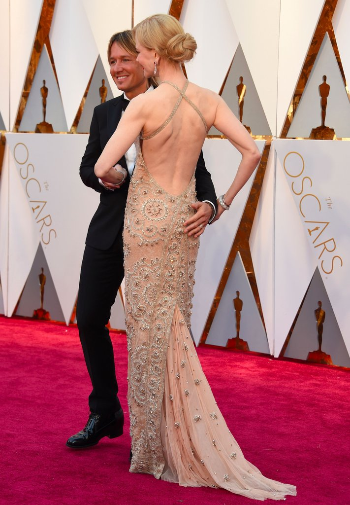 Gold is the new black | Vestidos dorados en Red Carpet de los Oscars