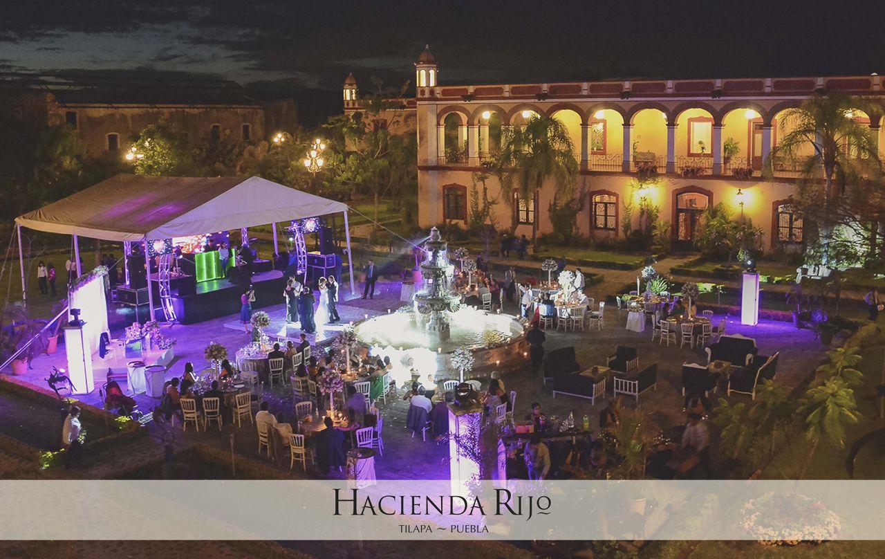 Hacienda Rijo: Haciendas para boda Puebla