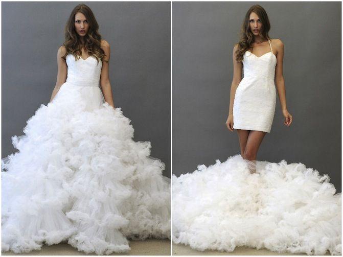 Como hacen los vestidos de novia