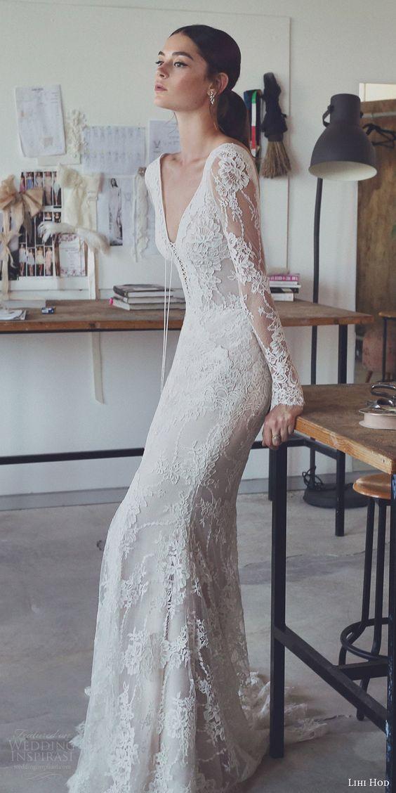 los 5 estilos de vestidos de novia más populares del 2017, de