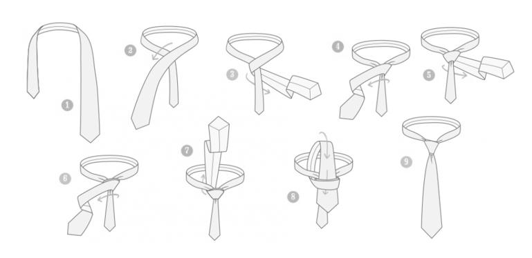 nudo de corbata 8