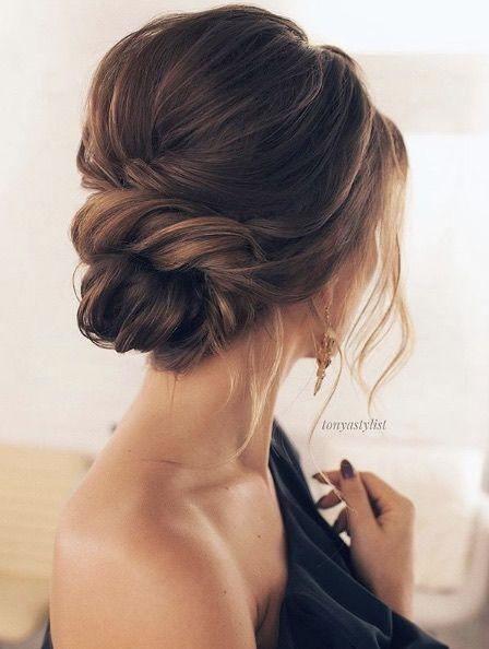 Peinado de novia 2018