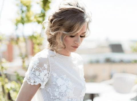 Peinado novia barcelona