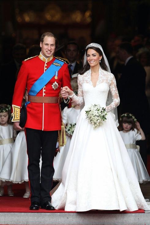 vestido de novia de Kate Middleton 6