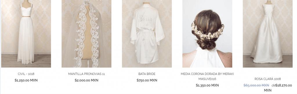 comprar un vestido de novia usado 4