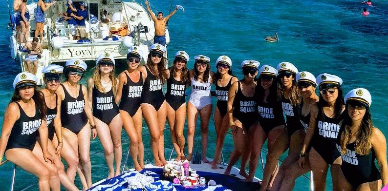 Brides Squad Swimwear