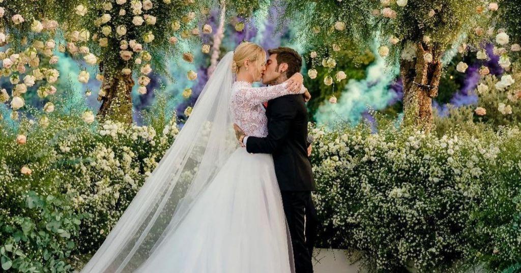 vestido de novia de Chiara Ferragni 9
