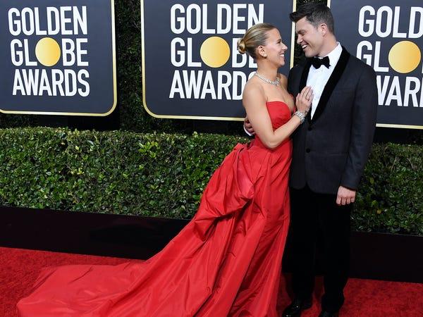parejas que vimos en los Golden Globes 2020 6