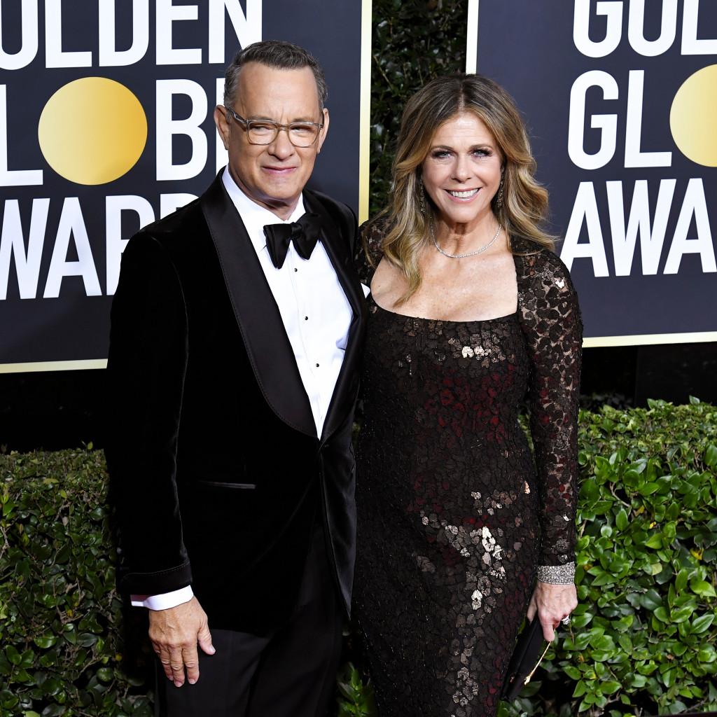 parejas que vimos en los Golden Globes 2020 8