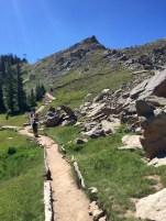 Summit trail to Crested Butte