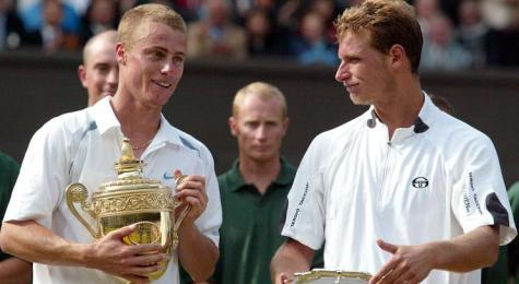 2002: finalista en Wimbledon