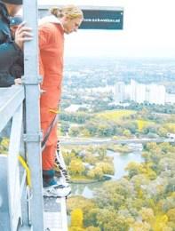 2004: Bungee Jumping en Viena