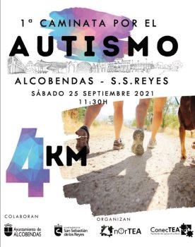 Cartel de la 1ª Caminata por el Autismo.