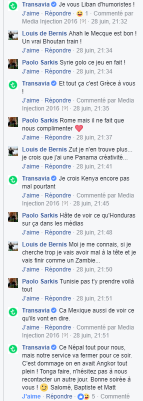 CM transavia échange facebook 3
