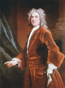 Portrait de Georg Friedrich Haendel (1685 - 1759) Jan van der Banck (actif 1re moitie du 18e). (Propriete de la ville de Hannovre).