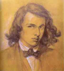 Autoportrait, 1847, Dante Gabriel Rossetti