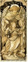 Frederick James Shields (1833-1911), La Lumière du Monde (The Light of the World), après 1854, collection particulière