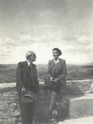 Paul Valéry et Jeanne Loviton dite Jean Voilier (coll. Mireille Fellous-Loviton)